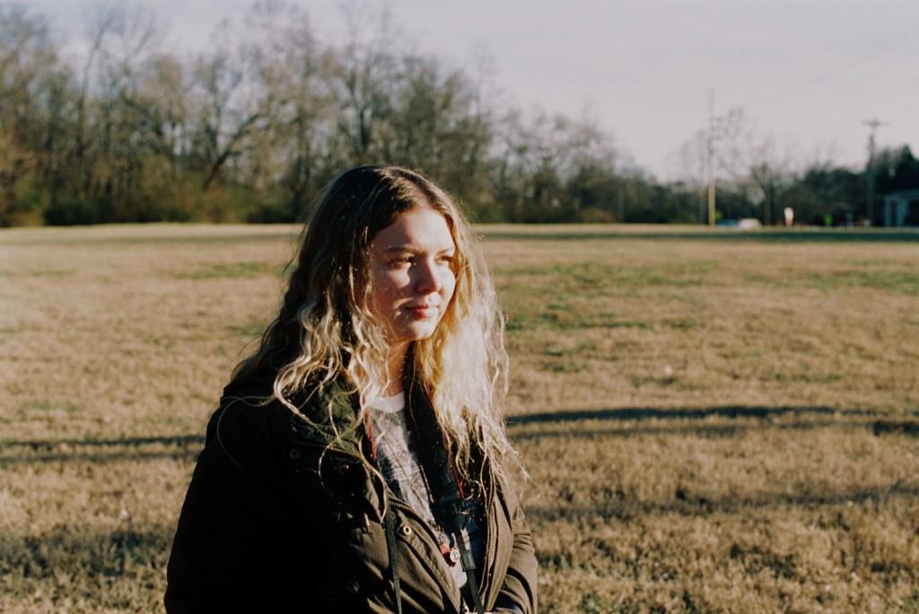 Lauren in direct sunlight.